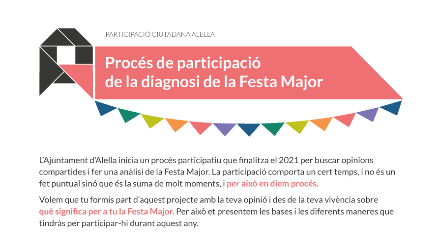 Procés de participació de la diagnosi de la Festa Major