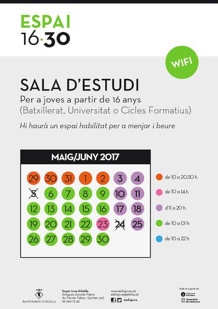SALA D'ESTUDI - JUNY
